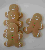Ginger Bread Holiday Cookies