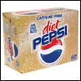 Pepsi Diet Caffeine Free Fridge Mate -12pk