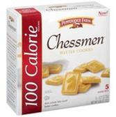 Pepperidge Farm 100 Calorie Pouches Chessmen Butter Cookies-5 Ct