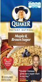 Instant Oatmeal - Maple & Brown Sugar -11.5oz