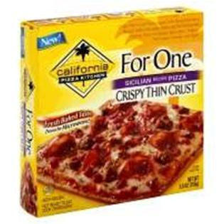 Tremendous California Pizza Kitchen Sicilian Recipecrispy Thin Crust 12 8 Home Interior And Landscaping Ologienasavecom