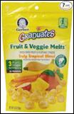 Gerber Graduates Fruit & Veggie Melts Truly Tropical-1 oz
