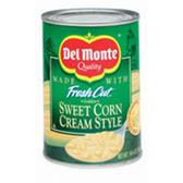 Del Monte Fresh Cut Sweet Corn Cream Style