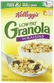 Kellogg's Lowfat Granola With Raisins -10.6oz