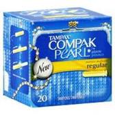 Tampax Regular Compak Pearl - 20 Count