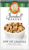 Sun Belt Bakery - Low Fat Whole Grain Granola Cereal -16oz