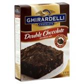 Ghirardelli Double Chocolate Brownie Mix -18.5 oz