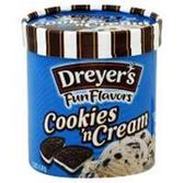 Dreyers / Edys Grand Cookies N Cream Ice Cream-1.5 qt