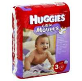 Huggies Supreme Little Movers Diapers Size 3 - 128 pk