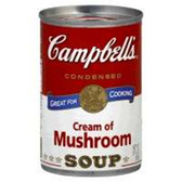 Campbell's Cream Of Mushroom Condensed Soup - 10.75 oz