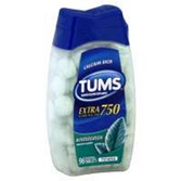 Tums Ex Wintergreen Antacid Tablets - 96 Count