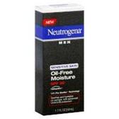 Neutrogena Men Sensitive Skin Oil-Free Moisture Spf 30 - 1.7 Fl.