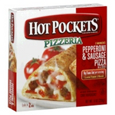 Hot Pockets Frozen Food Pepperoni & Sausage Pizza -9oz