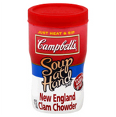 Campbell's - Soup at Hand -  New England Clam Chowder-10.75 oz