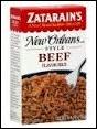 Zatarain's Beef Flavor Rice New Orleans Style -8 oz