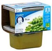 Gerber Baby 2nd Food - Peas