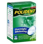 Polident Overnight Denture Cleanser - 78 Count