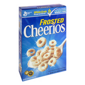 General Mill Frosted Cheerios Cereal Family Size - 18 oz