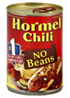 Hormel No Beans Chili, 15 OZ