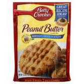 Betty Crocker Peanut Butter Cookie Mix -17.5 oz
