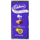 Cadbury Dairy Fine Milk Bar Chocolate -3.5 oz