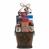 Texas Themed BBQ Gift Basket