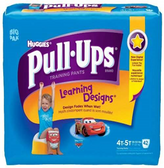 Pull-Ups Learning Design 4T - 5T -42ct