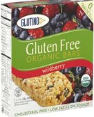 Glutino Organic Wildberry Breakfast Bars -5 Bars