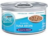 Purina one Smartblend Flaked Tuna Recipe -3oz