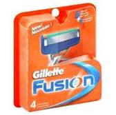 Gillette Fusion Power Razor Cartridges - 4 Count