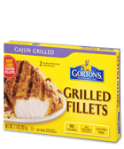 Gorton's Grilled Fillets - Cajun Grilled -7.1oz