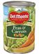 Del Monte Peas & Carrots, 14.5 OZ