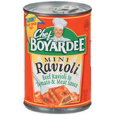 Chef Boyardee Beef Ravioli In Tomato and Meat Sauce, 7.5 OZ