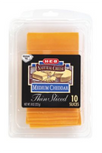 Store Brand Thin Sliced Mild Cheddar Cheese -10 ct