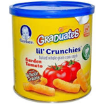 Gerber Graduates Lil Crunchies Zesty Tomato-1.48oz
