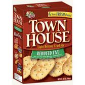 Keebler Town House Original Flip Sides Pretzel Crackers, 9.2 OZ 1