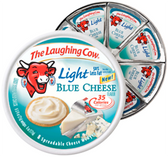 The Laughing Cow Light Blue Cheese Spreadable Cheese Wedges-6 ct