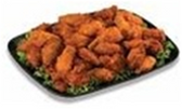 Hot Chicken Wings Medium Party Tray -  10-15 Servings