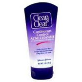 Clean and Clear Continuous Control Acne Cleanser - 5 Oz