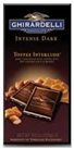 Ghirardelli Hazelnut Intense Dark Bar -3.5oz