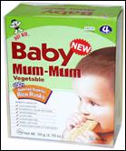 Hot Kid Baby Mum Mums Vegetable -1.76oz