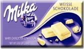 Milka - White Chocolate -3.5oz
