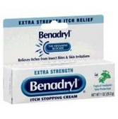 Benadryl Extra Strength Cream - 1 Oz