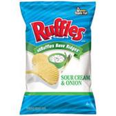 Ruffles Sour Cream & Onion Potato Chips -9.5 oz
