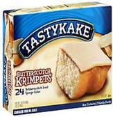 Tastykake Crimpets - Butterscotch -6pks