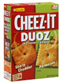 Sunshine Cheez‑It Duoz Sharp Cheddar Parmesan Baked Snack