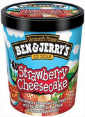 Ben & Jerry's - Strawberry Cheesecake -16oz