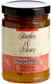 Fischer & Wieser Jelly - Amaretto Peach Pecan -10.9oz
