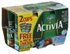 Dannon Activia Nonfat Blueberry/ Strawberry Yogurt, 12 CT