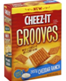 Sunshine Cheez‑it Grooves Zesty Cheddar Ranch Crackers, 9